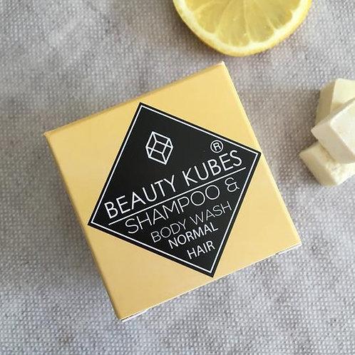 BEAUTY KUBES Plastic-Free Vegan Shampoo and Body Wash Unisex