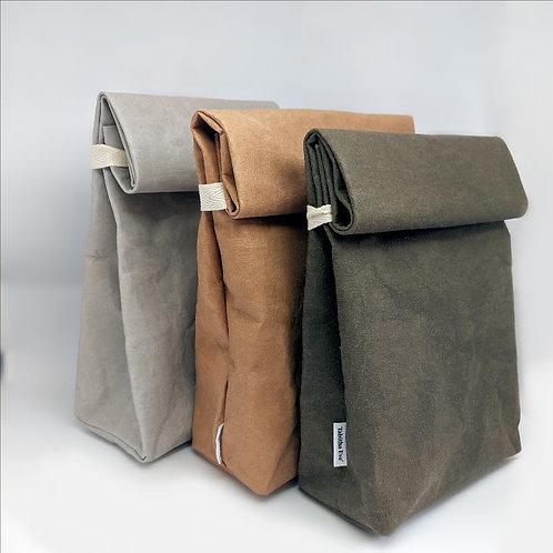 PLASTIC-FREE VEGAN LEATHER LUNCH BAG Tabitha Eve