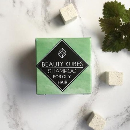 BEAUTY KUBES Plastic-Free Shampoo for Oily Hair