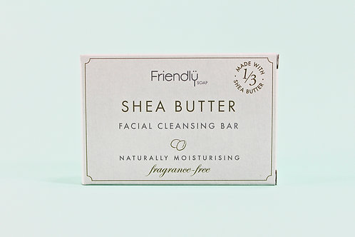 FACIAL CLEANSING BAR Shea Butter 95g
