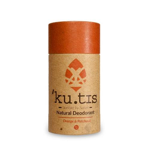 KUTIS NATURAL DEODORANT Orange & Patchouli 55 g