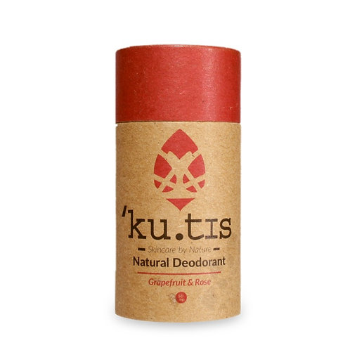 KUTIS NATURAL DEODORANT Grapefruit & Rose 55 g