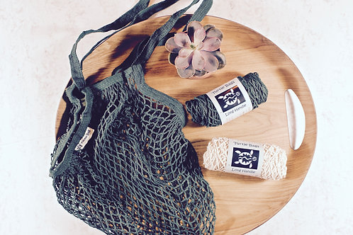 ORGANIC COTTON STRING BAG Turtle Bags