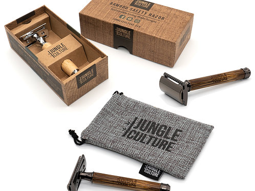 BAMBOO ZEROWASTE SAFETY RAZOR SET Unisex