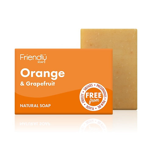 FRIENDLY SOAP Orange & Grapefruit 95g