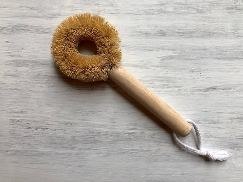 Coconut & Wood Dishwashing Brush