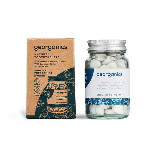 GEORGANICS TOOTHPASTE TABLETS Peppermint 120 Tablets