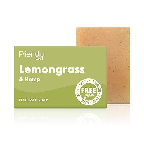 FRIENDLY SOAP Lemongrass & Hemp 95g