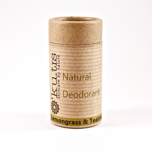 NATURAL DEODORANT Lemongrass & Tea Tree 50g