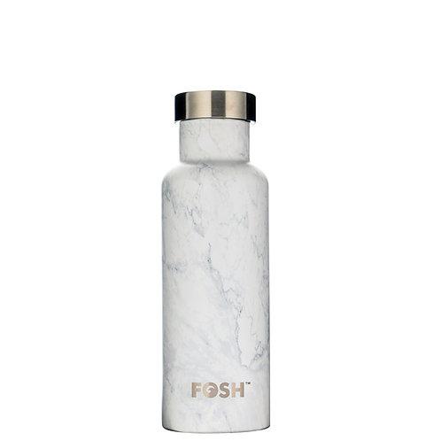 FOSH Triple Insulated Drinks Bottle 550 ml Marble