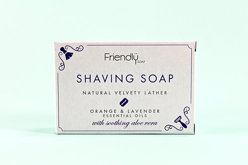 SHAVING SOAP Orange & Lavender 95g