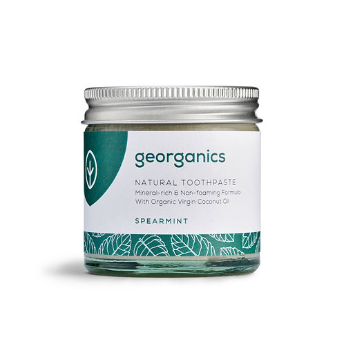 GEORGANICS NATURAL MINERAL-RICH TOOTHPASTE Spearmint 60ml