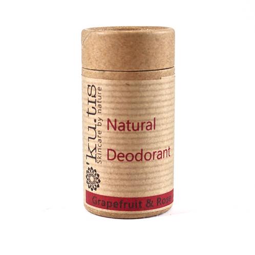 NATURAL DEODORANT Grapefruit & Rose 50g