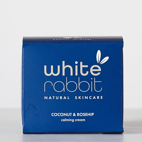 WHITE RABBIT CALMING CREAM Coconut & Rosehip