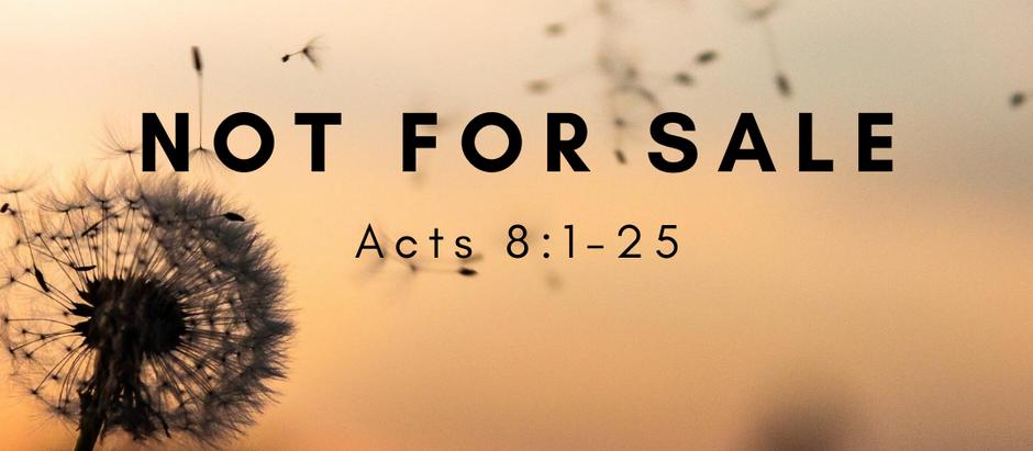 Sunday Worship: August 16, 2020
