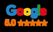 Five Star Trust Rating on Google.
