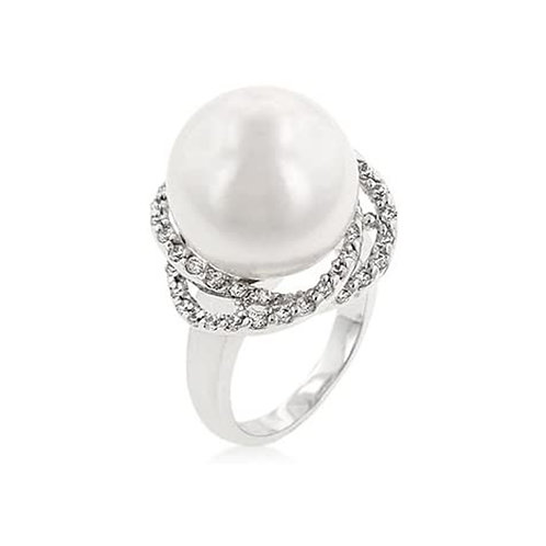 PEARL COCKTAIL RING