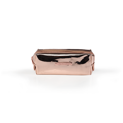 INGLOT COSMETIC BAG MIRROR ROSE GOLD