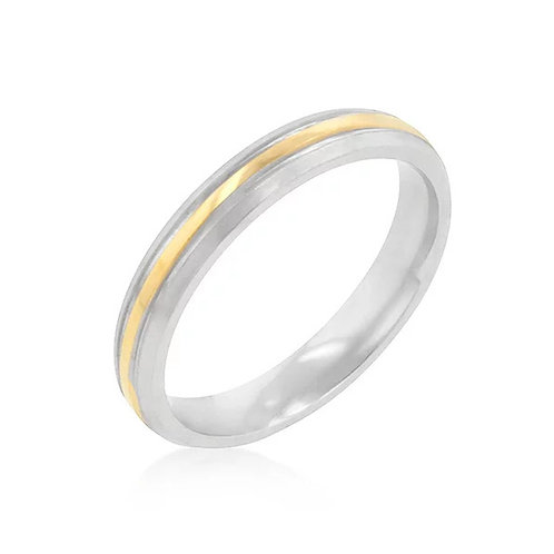 3MMTWO-TONE STAINLESS STEEL BAND