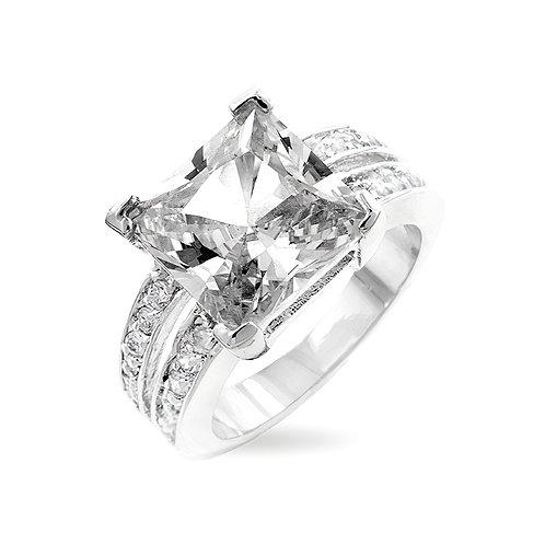 WHITE PRINCESS ENGAGEMENT RING