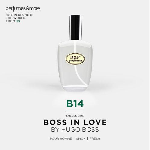 B14-LOVE THE BOSS -MAN
