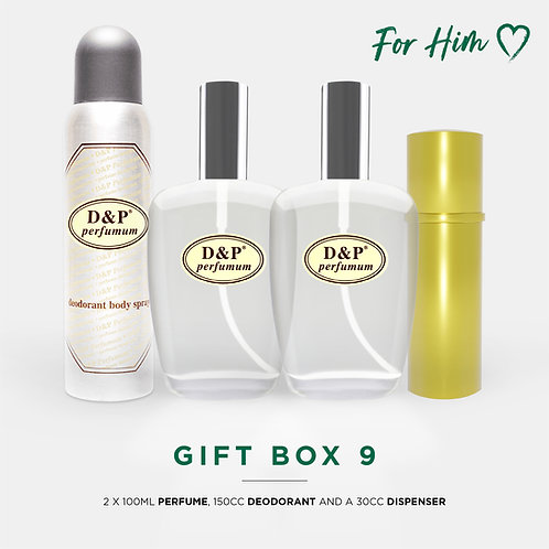 GIFT BOX 9 For Him