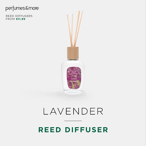 LAVENDER - Reed diffuser
