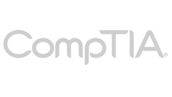 CompTIA Logo - a Thought Leadership guest on a Thought Leadership marketing show produce by Rveal Media