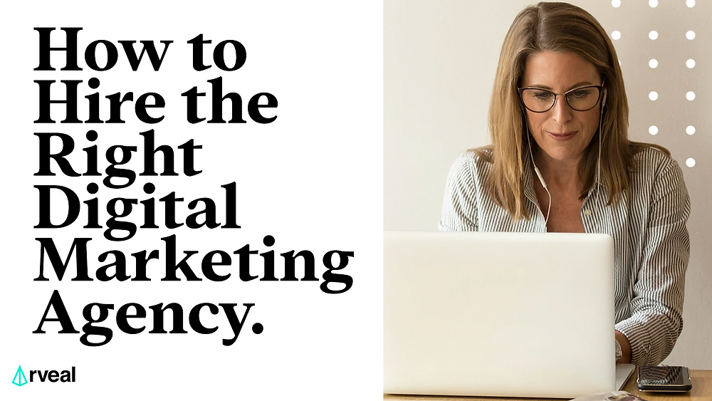A financial advisor searches online for a digital marketing agency.