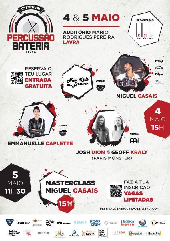 MMTW   Much more than a Window  11º FESTIVAL PERCUSSÃO   BATERIA