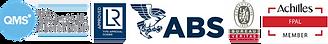 SRJ QMS ABS LR BV FPAL Certificates