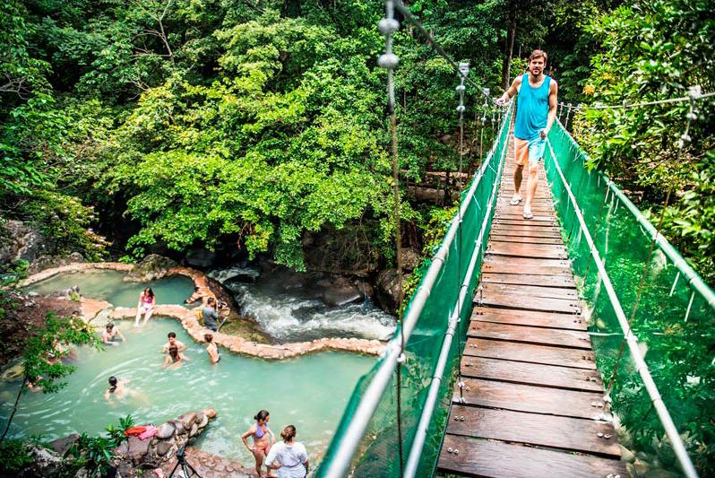 Hot Springs in Guanancaste