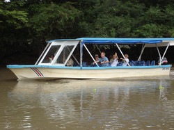The boat at Palo Verde