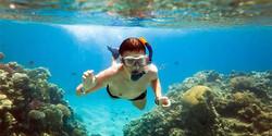 Catamaran snorkelin Guanacaste
