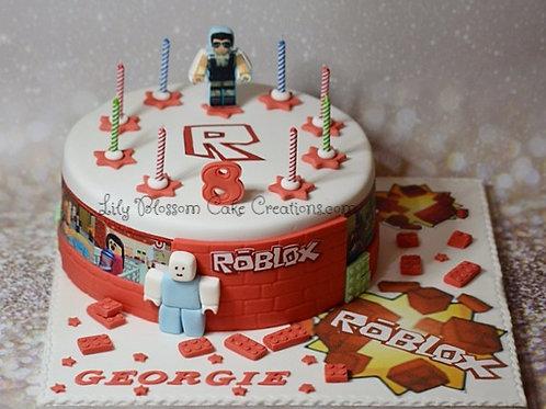 Roblox birthday cake boys birthday cakes Liverpool