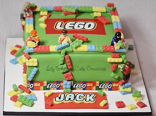 Lego Cake Birthday Liverpool Merseyside