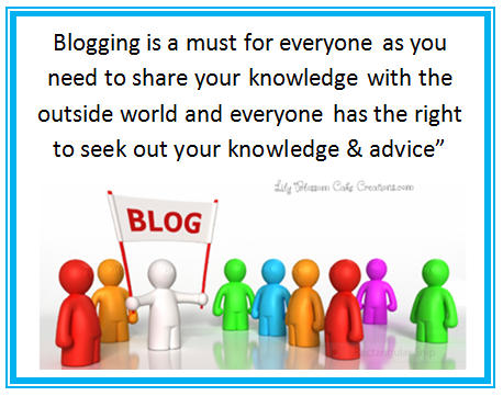 Creating your first blog