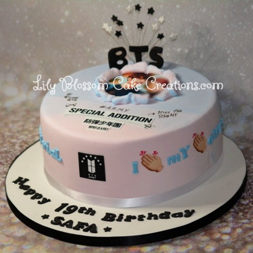 BTS Army cake / Lily Blossom Cake Creations / Liverpool