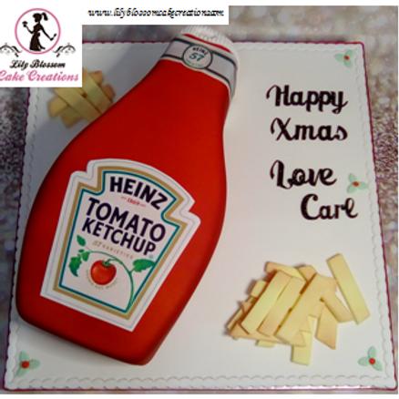 Tomato Sauce Cake