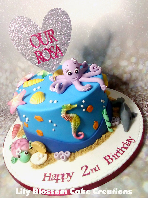 Sea Life Cake