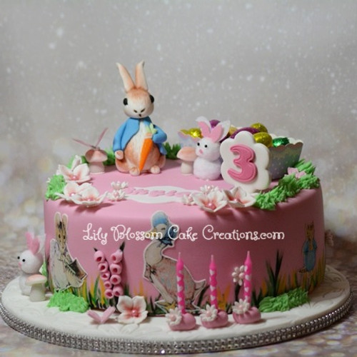 Children S Birthday Cakes Liverpool Lily Blossom Cake Creations