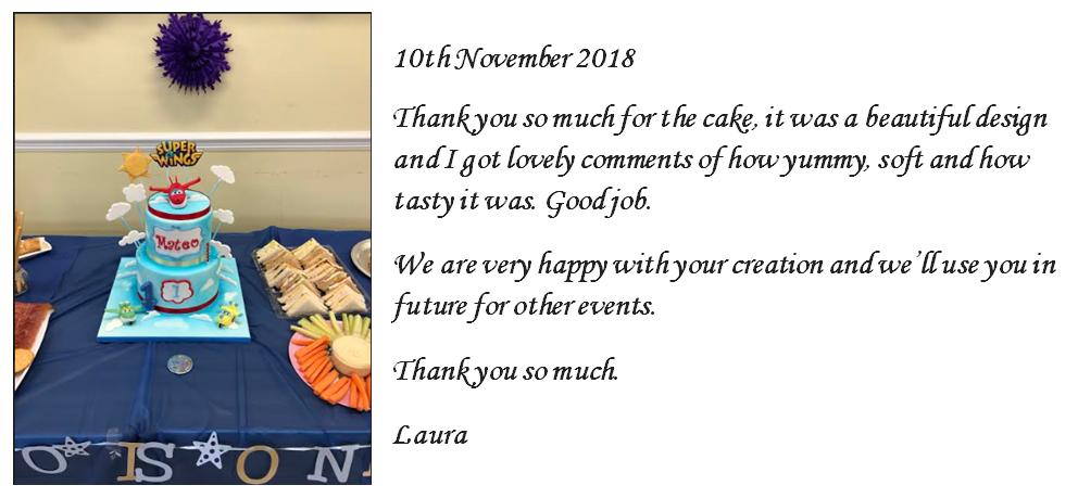 Superwings Birthday Cake