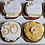 50th Birthday Cupcakes / Lily Blossom Cake Creations / Liverpool Merseyside