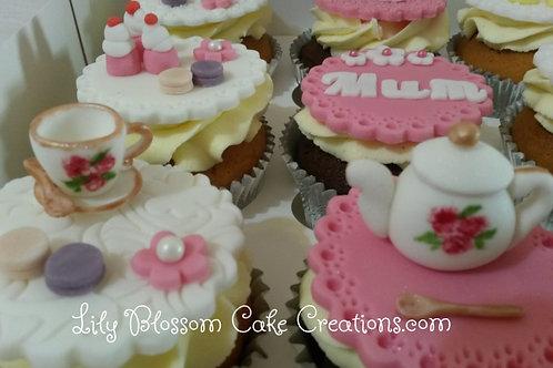 Afternoon Tea Cupcakes