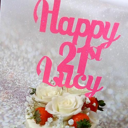 Lucy Drip Cake