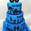 Thumbnail: 80th Birthday Silhouette Cake