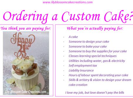 Ordering a Custom Cake?