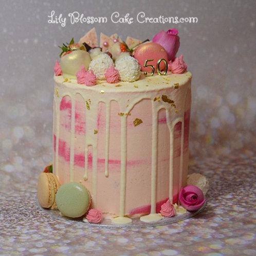 Drip Cake Liverpool Online cake ordering