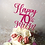 70th Birthday Cake / Lily Blossom Cake Creations / Liverpool
