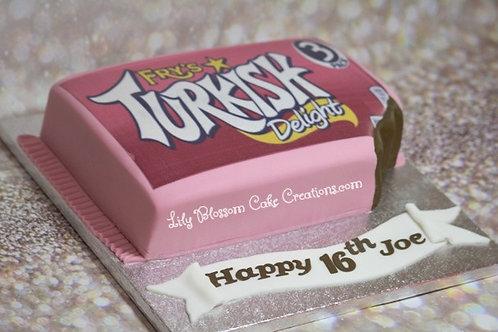 Turkish Delight Birthday Cake / Lily Blossom Cake Creations / Liverpool